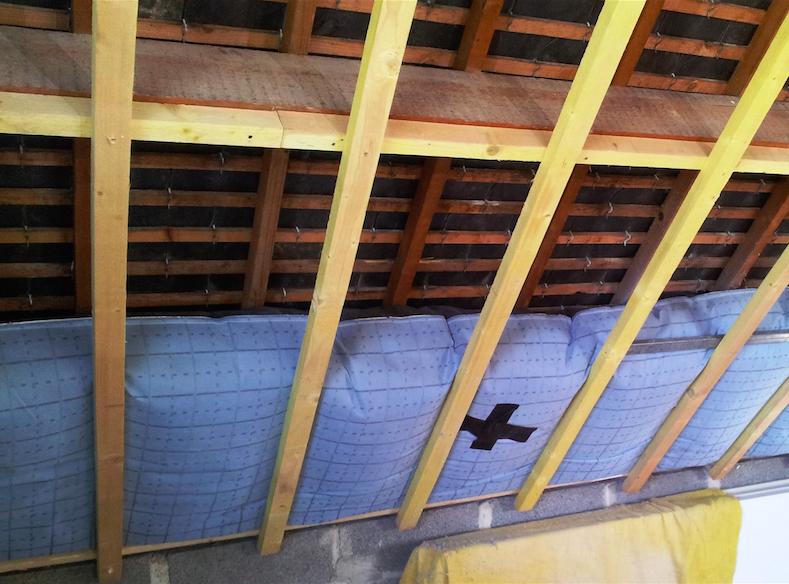 Isosac isolation sous toiture combles à aménagés