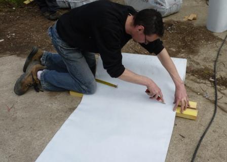 comment poser Isosac pour isoler les toitures par extérieur